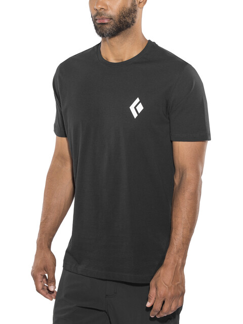 Black Diamond Equipment for Alpinist SS Tee Men Black